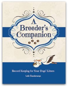 Record Keeping Book for Dog Breeders