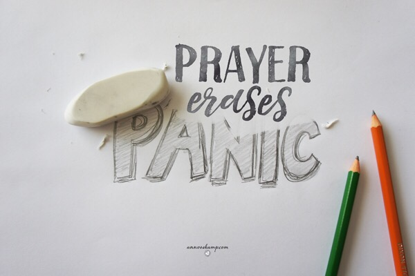 Prayer erases panic