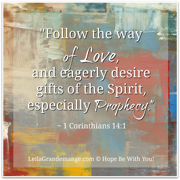 what is prophetic art