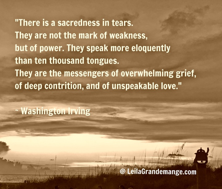 tears and sadness quote