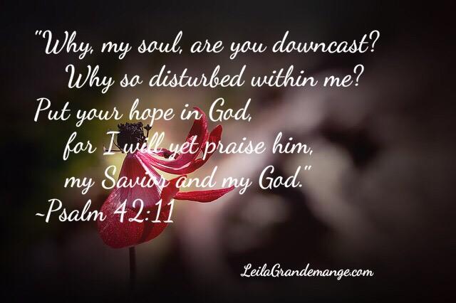 sadness Bible verse