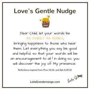 Love's Gentle Nudge