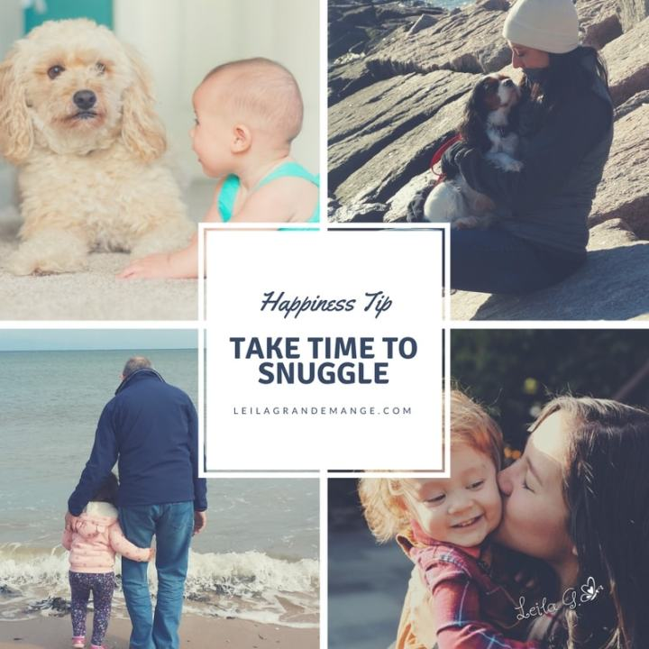 Happiness Tip: Take Time to Snuggle [blog post]