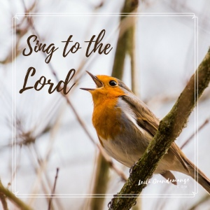 Sing to the Lord!