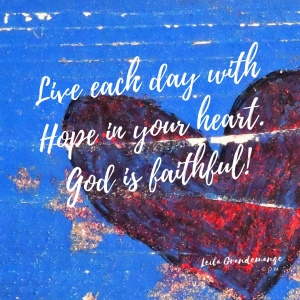 Hope heart image.