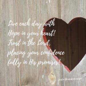 Hope heart image