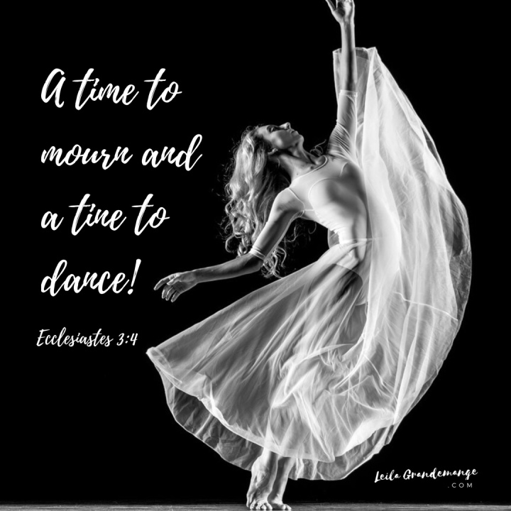 A time to mourn and a time to dance image