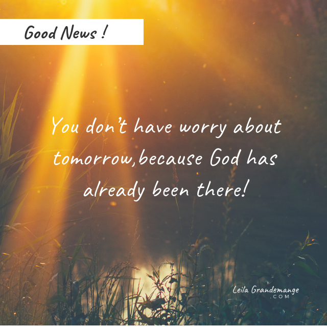 You Don't Have to Worry