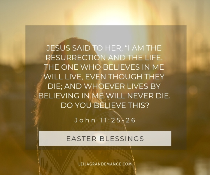 I am the resurrection and the life. Image