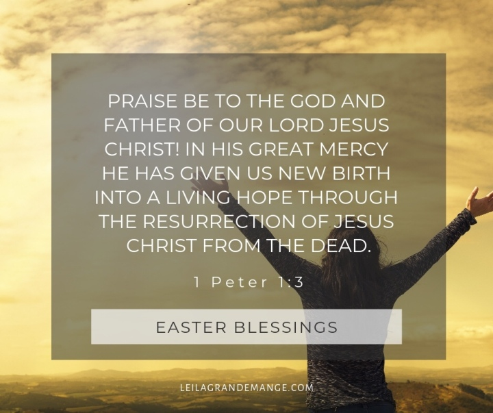 Easter verse image 1 Peter 1:3