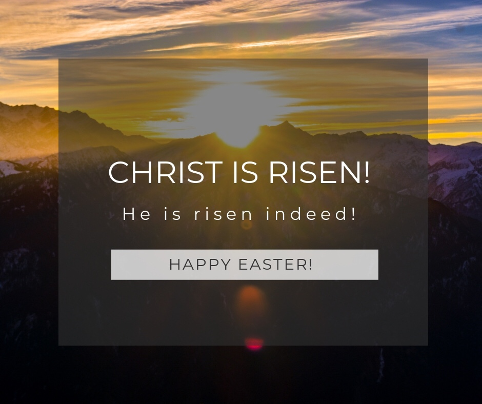 CHRIST IS RISEN! [In Different Languages]