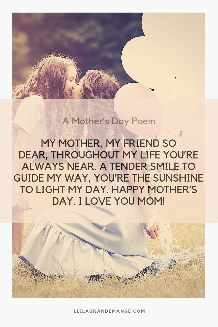 My Mother, My Friend