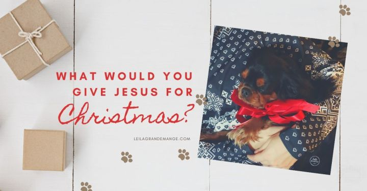 What would you give Jesus for Christmas?