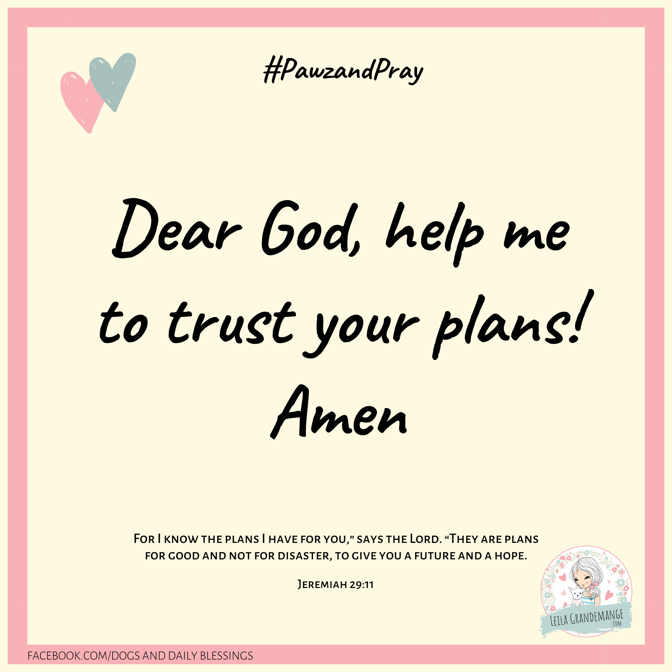 Short Prayer of Trust in God