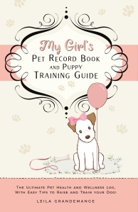 Dog record book for girl puppies